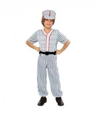 Disfraz Jugador Baseball niño infantil para Carnaval