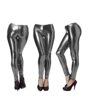 Malla metalizada adulto negro Accesorio Baile