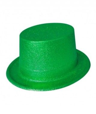 Chistera verde de plástico...