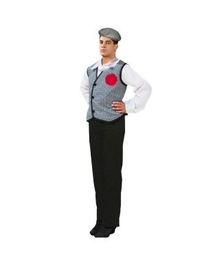 Disfraz Chulapo hombre adulto para San Isidro