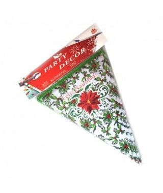 Banderines Guirnalda Feliz Navidad Decoración Navidad