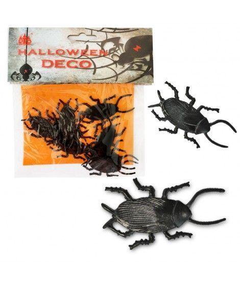 Cucarachas Decoración Halloween (10 uds)