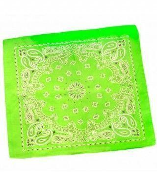 Pañuelo Bandana Rapero Paisley verde