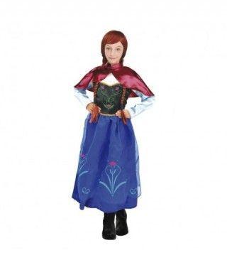 Disfraz Princesa de Hielo Capa niña infantil para Carnaval