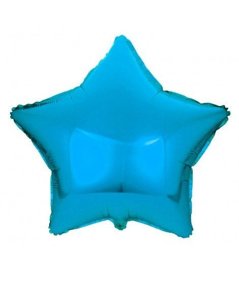 Globo Estrella Azul 46 cm Foil