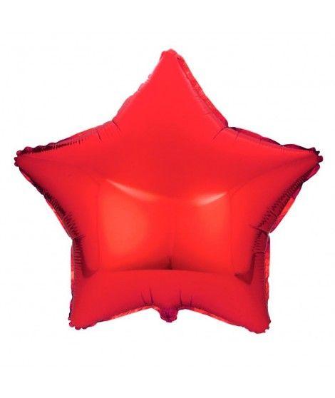 Globo Estrella Rojo 46 cm Foil