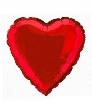 Globo Corazón Rojo 46 cm Foil