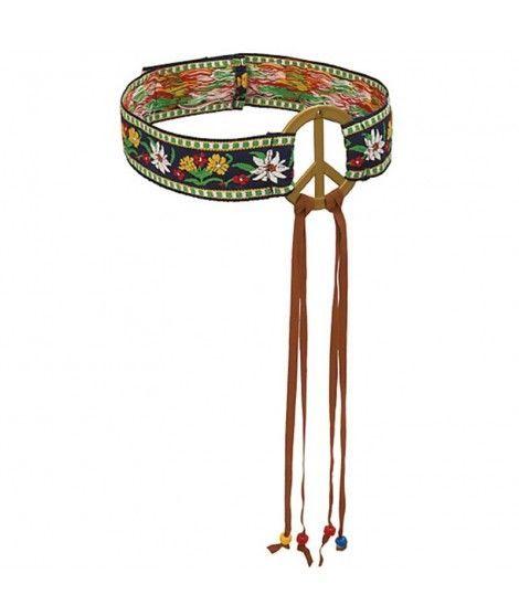 Cinta Hippie Símbolo de la Paz para la cabeza Accesorio Carnaval