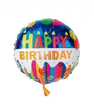 Globo Happy Birthday Foil Cumpleaños