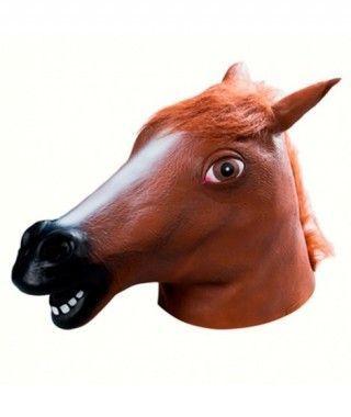 Máscara Cabeza de Caballo Accesorio Fiesta