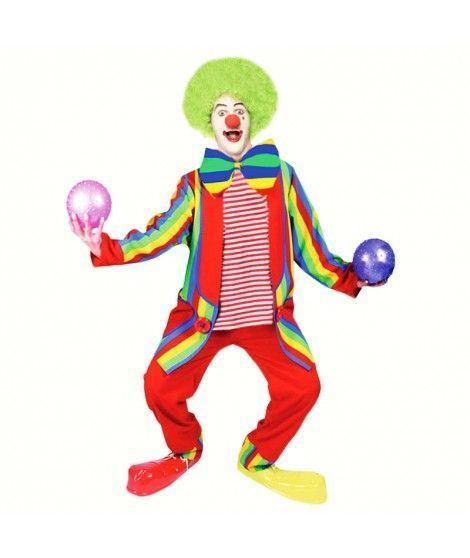 Disfraz Payaso Arco Iris hombre adulto para Carnaval