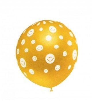 Globos Smileys Surtidos (5 uds) Tamaño Grande