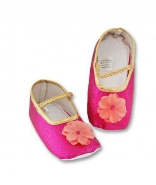 Zapatos Princesa Fucsia Tela