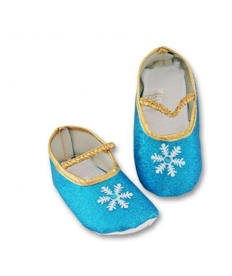 Zapatos Princesa Azul Tela