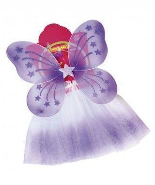 Conjunto Alas mariposa y Tutú degradado (+colores)