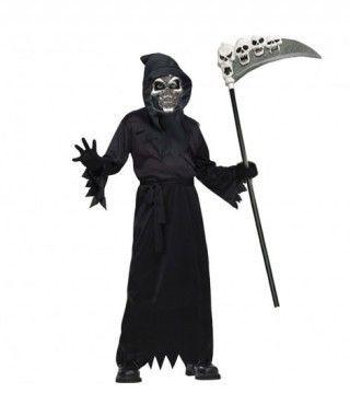 Disfraz de Muerte Encapuchada infantil Halloween