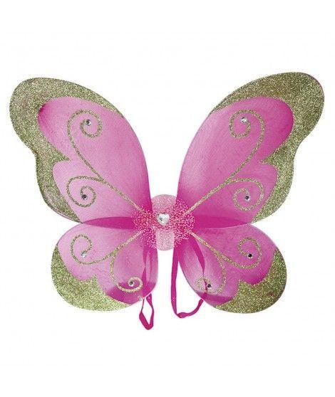 Alas de Mariposa/Hada con purpurina Accesorio