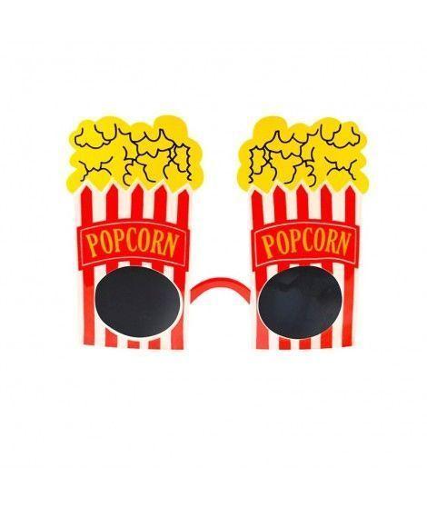 Gafas Popcorn de fiesta Accesorio