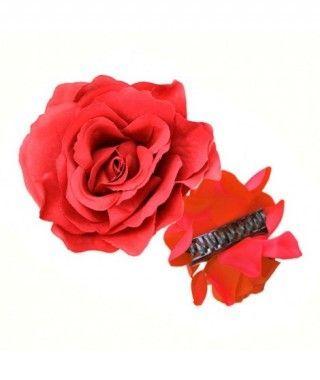 Rosa Flamenca Pinza Roja