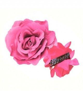 Rosa Flamenca Pinza Rosa