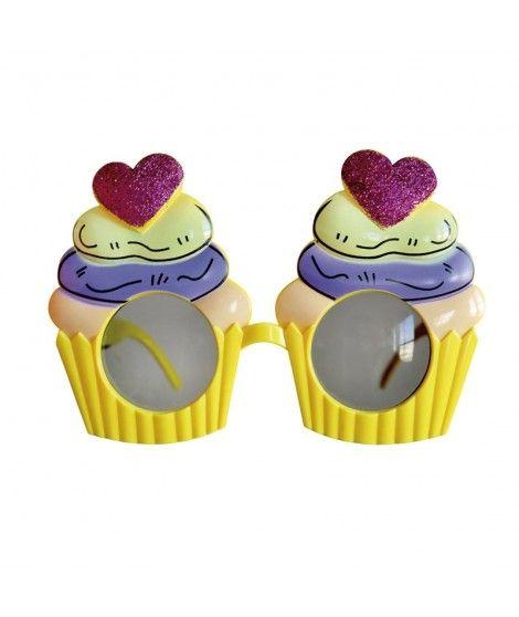 Gafas Cupcake de fiesta Accesorio Fiesta