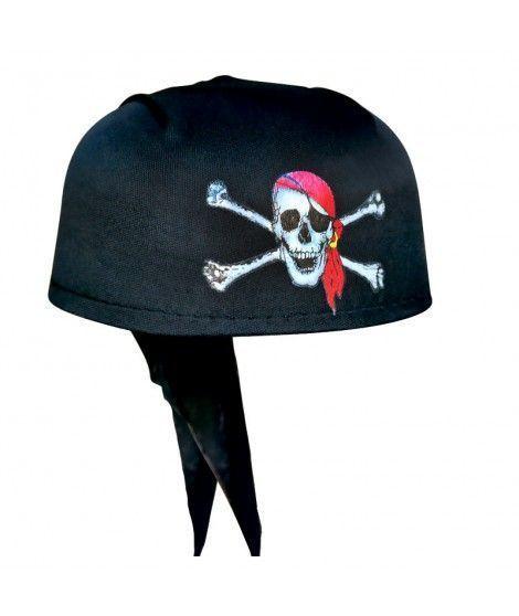 Gorro Pirata Casco Negro Accesorio Carnaval