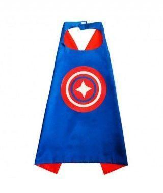Capa Superhéroe América Accesorio