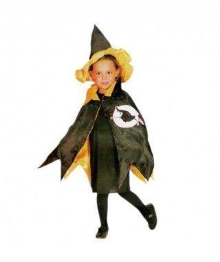 Disfraz Bruja Capa niña infantil Halloween