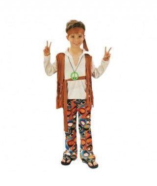 Disfraz Hippy Paz niño infantil Carnaval