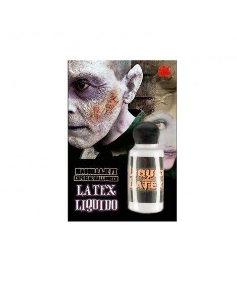 Látex Líquido (Bote 28 ml) Maquillaje Efectos Especiales Halloween