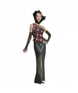 Disfraz Vampiresa Punk mujer adulto Halloween