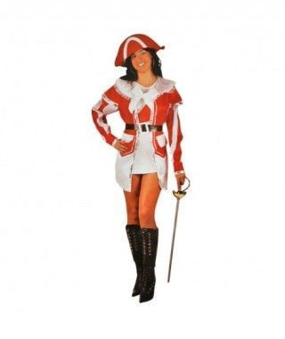Disfraz Mosquetera mujer adulto Carnaval