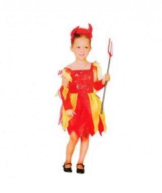 Disfraz Demonia Lujo niña infantil Halloween
