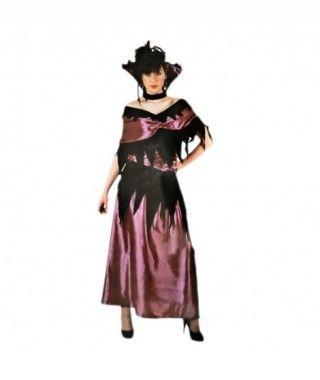 Disfraz Vampira Lila mujer adulto Halloween