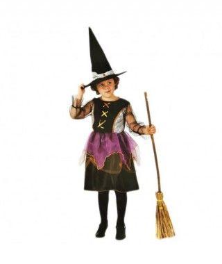 Disfraz Brujita Lila niña infantil Halloween