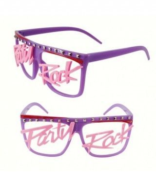 Gafas Party Rock Accesorio...