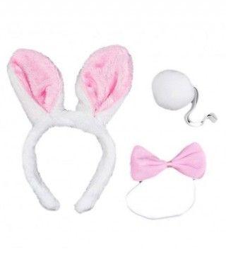 Conjunto Disfraz Conejo Accesorios (3 piezas)
