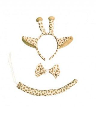 Conjunto Disfraz Jirafa Accesorios (3 piezas)
