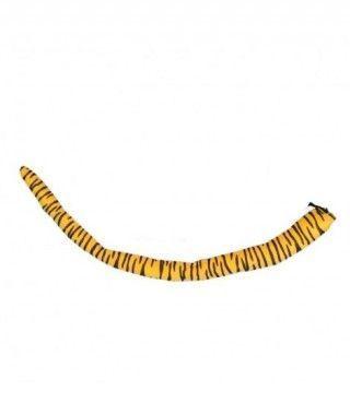 Cola postiza moldeable de Tigre (75 cm) Accesorio Carnaval
