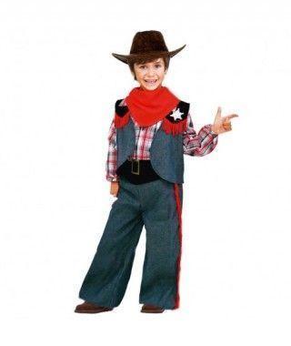 Disfraz Vaquero Sheriff niño infantil para Carnaval
