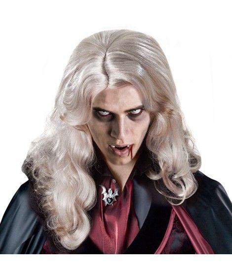 Peluca de Vampiro Accesorio Halloween