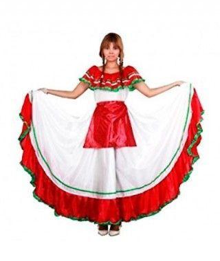 Disfraz Mejicana Barranquilla mujer adulto Carnaval