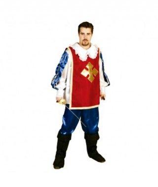 Disfraz Mosquetero hombre adulto Carnaval