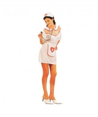 Disfraz Enfermera Corazón mujer adulto Carnaval