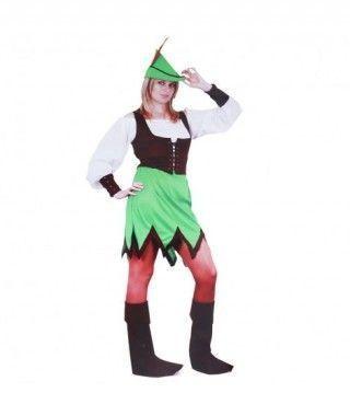 Disfraz Robin Hood Mujer adulto Carnaval