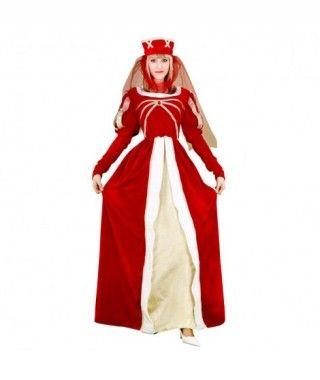Disfraz Princesa Real mujer adulto Carnaval