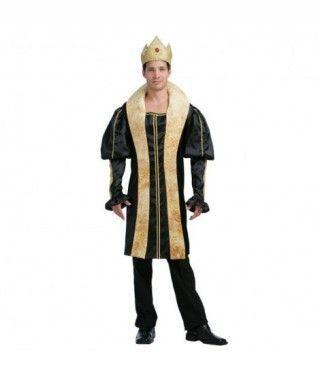 Disfraz Rey dorado hombre adulto Carnaval