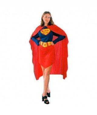 Disfraz Super Woman mujer adulto Carnaval