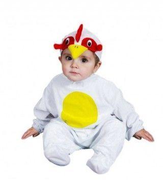 Disfraz Gallo Bebé infantil Carnaval