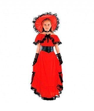 Disfraz Scarlet niña infantil Carnaval